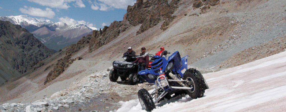 Quad Offroad Tour durchs Hochgebirge Tian Shan (Kirgisistan)