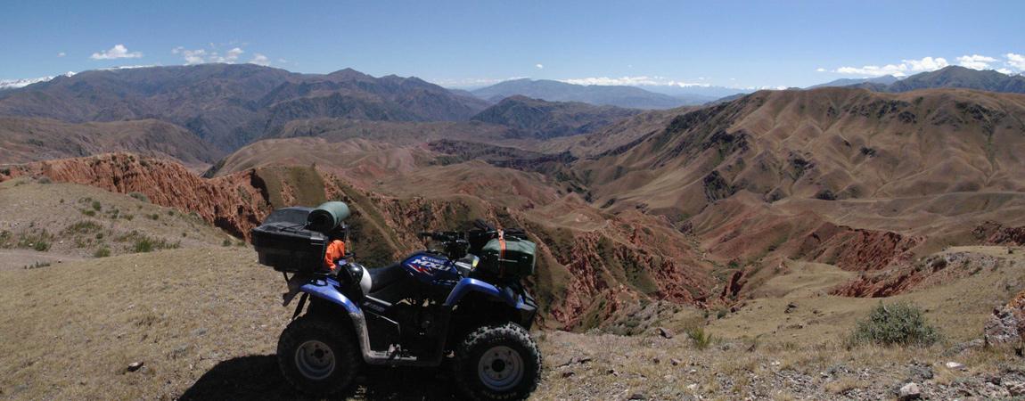 Kegety Pass (3.780 m) & Konortchok Canyon