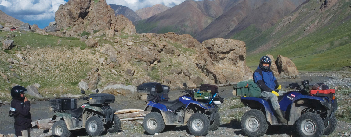 Quad Offroad Adventure Touren - M41 Pamir Highway (Tajikistan)